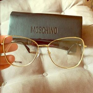 NEW AUTH MOSCHINO glasses/readers. Beautiful